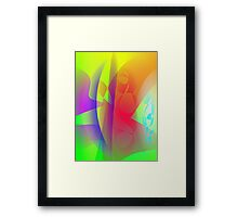 Ruby Red Grapefruit Framed Print