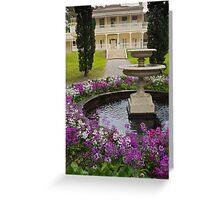 Como House and Garden Victoria Greeting Card