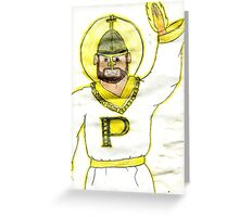 Pope Man Greeting Card