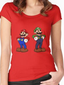 Retro Bros Women's Fitted Scoop T-Shirt