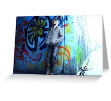 Life On the Wall Greeting Card