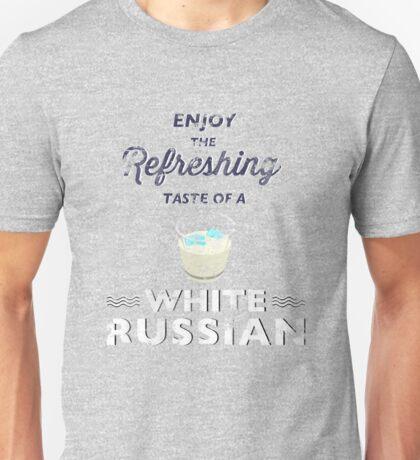 Enjoy the Refreshing Taste of a White Russian Unisex T-Shirt