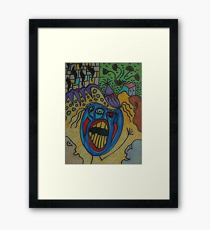 The Alcohol Effect Framed Print