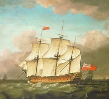HMS Victory by Monamy Swaine (1795) by VintageLevel