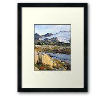 Mt Baker Washington State Framed Print