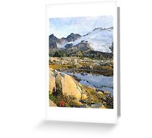 Mt Baker Washington State Greeting Card