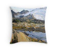 Mt Baker Washington State Throw Pillow