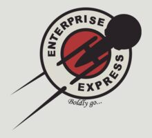 Enterprise Express...Boldy go... by Sebastienn Truehart