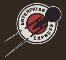 Enterprise Express. by KillerBrick Tees