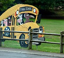 Tirau School Bus by phil decocco