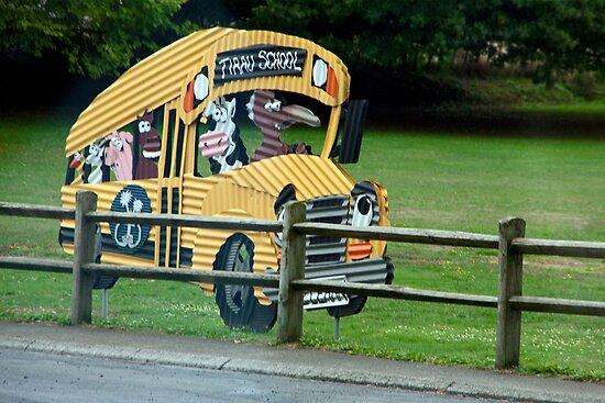Tirau School Bus by phil decocco