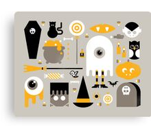 Cute Halloween Treats Canvas Print