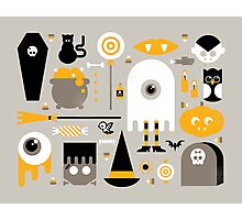 Cute Halloween Treats Photographic Print
