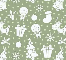 soft christmas pattern by BoYusya