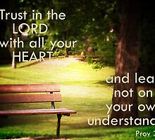 Trust in the Lord by rhamm
