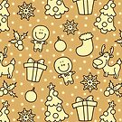 christmas pattern by BoYusya