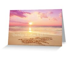 Remembering Her With You Always Greeting Card