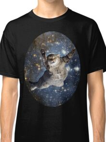 Cat in space - iCase available Classic T-Shirt