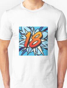 Comic Book 18 blue T-Shirt