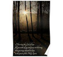 God of Hope - Card Poster