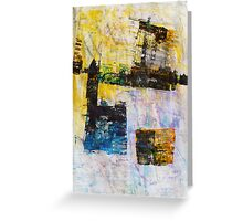 Industrial Landscape Greeting Card