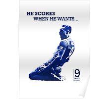 He Scores When He Wants - Jamie Vardy Poster