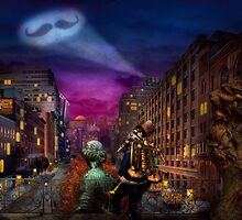 Steampunk - The Great Mustachio by Mike  Savad