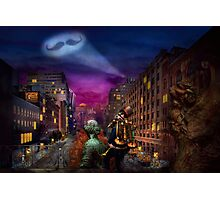 Steampunk - The Great Mustachio Photographic Print