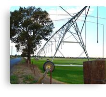 Irrigation Canvas Print