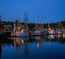 Fishermen's Harbor, Newport, Oregon by Tomas Abreu