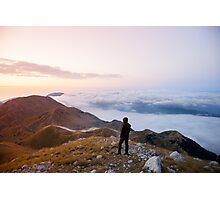 6725ft at 5:30 am  Photographic Print