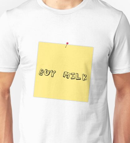Buy Milk Unisex T-Shirt
