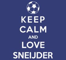 Keep Calm And Love Sneijder by Phaedrart