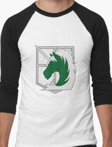 Attack on Titan - Military Police Men's Baseball ¾ T-Shirt