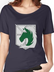 Attack on Titan - Military Police Women's Relaxed Fit T-Shirt