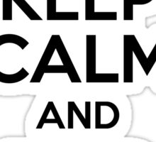 Keep Calm & Find the Rule Sticker