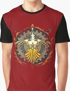Suzaku Flame Graphic T-Shirt