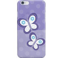 Purple Dot Butterfly iPhone Case iPhone Case/Skin