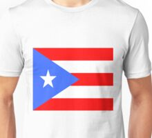 Flag of Puerto Rico Unisex T-Shirt