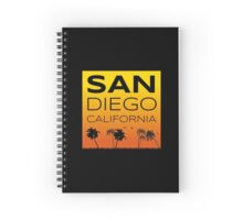 San Diego Sunset Spiral Notebook