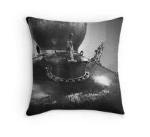 Copper pot still, 1608 Throw Pillow