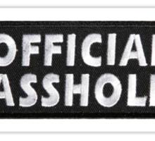 Official Asshole Sticker