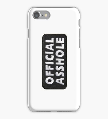 Official Asshole iPhone Case/Skin