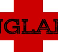 ENGLAND ST GEORGE CROSS Sticker