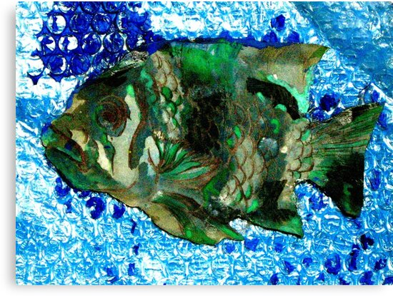 fish in Blue Water by sebmcnulty