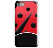 Red and Black Ladybug Case iPhone Case/Skin