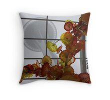 Glass Greenhouse Throw Pillow