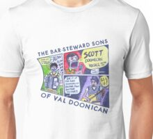 The Bar-Steward Sons Of Val Doonican Cartoon Unisex T-Shirt