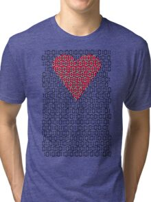 digital love Tri-blend T-Shirt