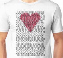 digital love Unisex T-Shirt